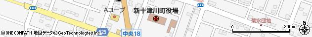北海道樺戸郡新十津川町周辺の地図