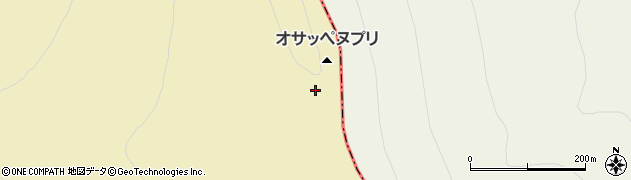 オサッペヌプリ周辺の地図