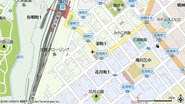〒073-0031 北海道滝川市栄町の地図