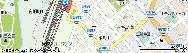 日勝寺周辺の地図