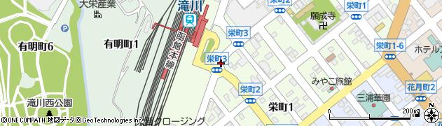 栄町3周辺の地図
