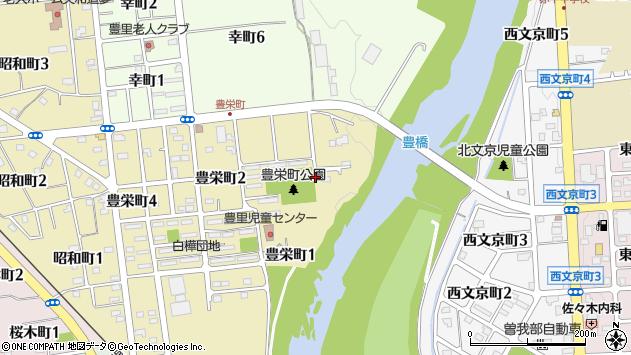 〒079-1153 北海道赤平市豊栄町の地図
