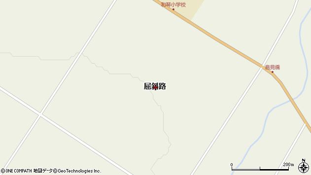 〒088-3341 北海道川上郡弟子屈町屈斜路の地図