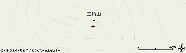 三角山周辺の地図