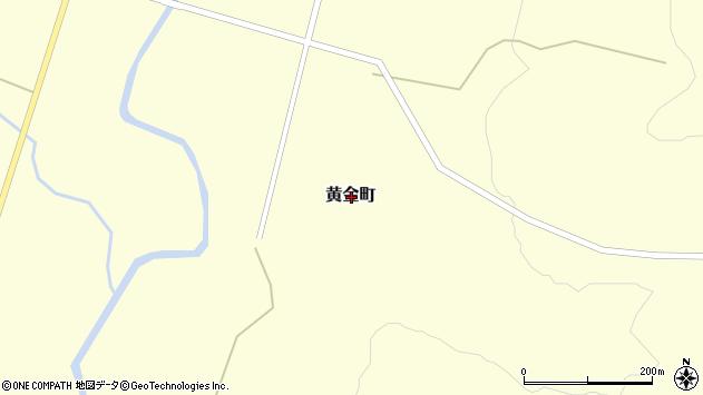 〒075-0252 北海道芦別市黄金町の地図
