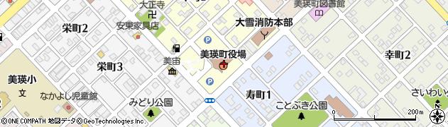 北海道美瑛町(上川郡)周辺の地図