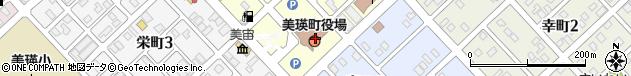 北海道上川郡美瑛町周辺の地図