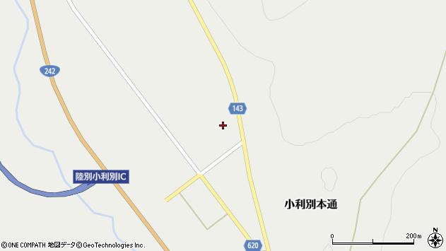 〒089-4355 北海道足寄郡陸別町小利別の地図