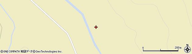 センウンツベツ川周辺の地図