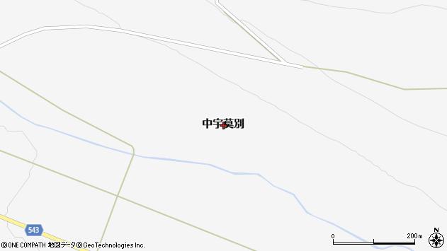 〒071-0227 北海道上川郡美瑛町中宇莫別赤羽の地図
