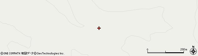ポンポン山周辺の地図