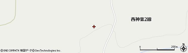 北海道旭川市西神楽2線(32号)周辺の地図