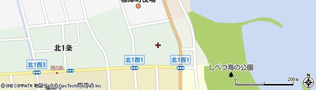 標津神社周辺の地図
