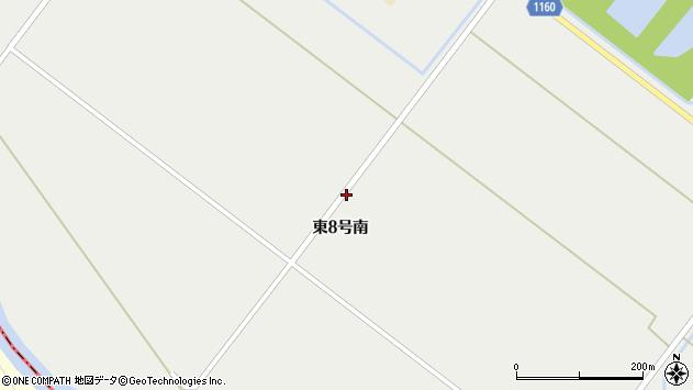 〒071-1458 北海道上川郡東川町東8号南の地図