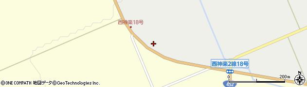 北海道旭川市西神楽2線(17号)周辺の地図