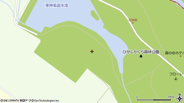 〒071-1556 北海道上川郡東神楽町26号の地図