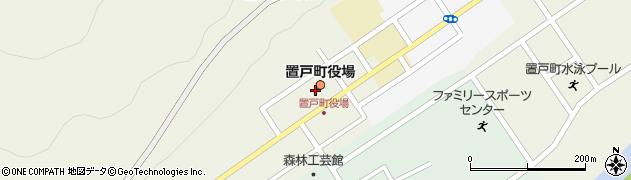 北海道常呂郡置戸町周辺の地図
