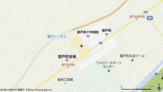 〒099-1132 北海道常呂郡置戸町協和の地図