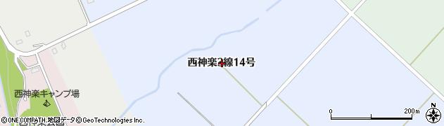 北海道旭川市西神楽3線(14号)周辺の地図