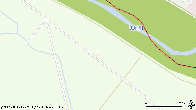 〒071-1551 北海道上川郡東神楽町21号の地図
