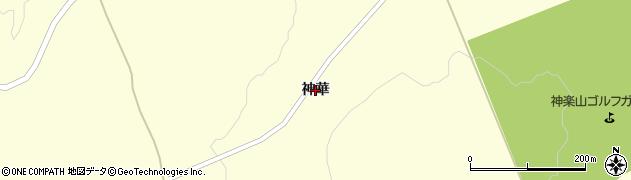 北海道旭川市神居町(神華)周辺の地図