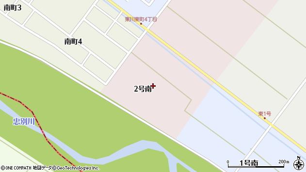 〒071-1422 北海道上川郡東川町西2号南の地図