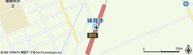 北海道雨竜郡妹背牛町周辺の地図