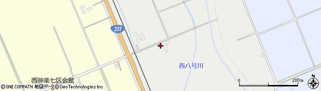 北海道旭川市西神楽2線12号周辺の地図