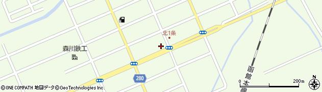 北空知信用金庫妹背牛支店周辺の地図