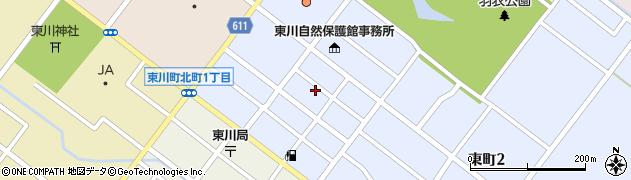 東弘寺周辺の地図