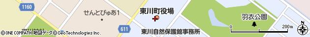 北海道上川郡東川町周辺の地図