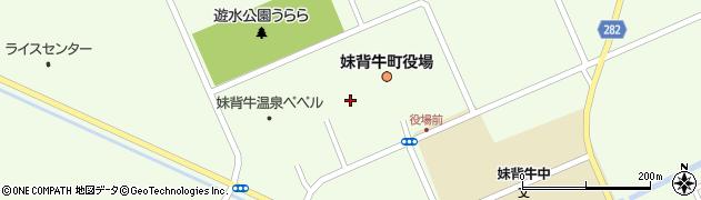 北海道妹背牛町(雨竜郡)妹背牛周辺の地図