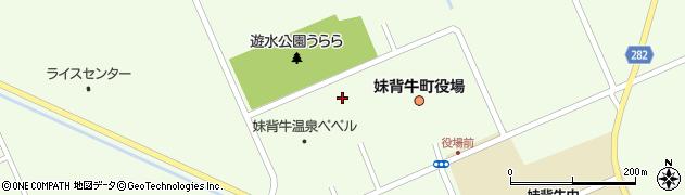 妹背牛町総合体育館周辺の地図