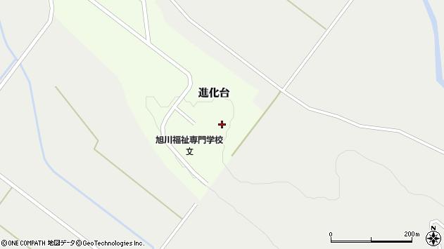 〒071-1464 北海道上川郡東川町進化台の地図