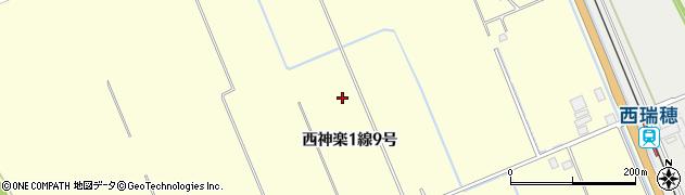 北海道旭川市西神楽1線(9号)周辺の地図