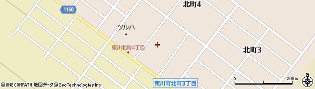 東川寺周辺の地図