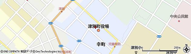 北海道網走郡津別町周辺の地図