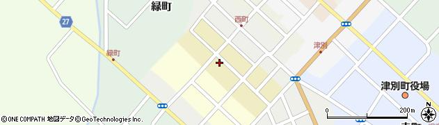 北海道網走郡津別町西2条周辺の地図