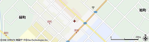 北海道網走郡津別町東3条周辺の地図
