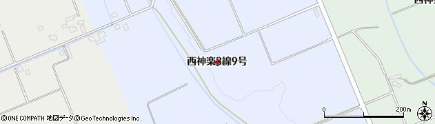 北海道旭川市西神楽3線(9号)周辺の地図