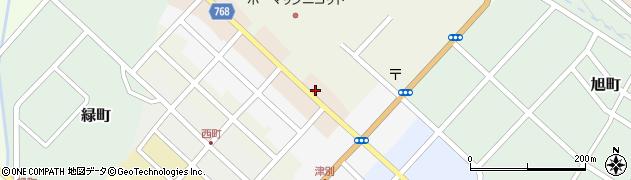 北海道網走郡津別町東4条周辺の地図