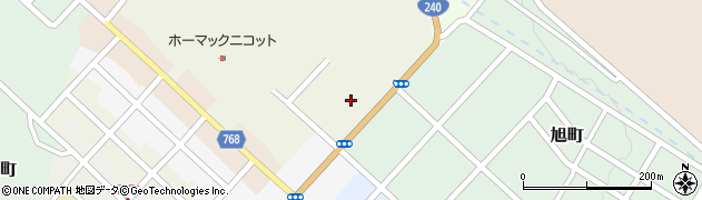 北海道網走郡津別町新町周辺の地図