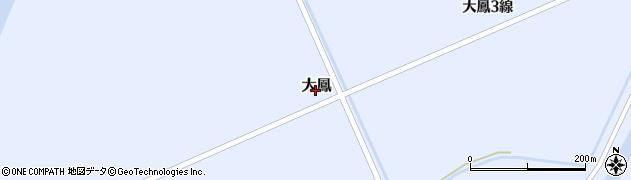 北海道妹背牛町(雨竜郡)大鳳周辺の地図