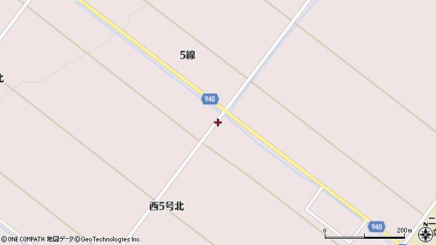 〒071-1405 北海道上川郡東川町西5号北の地図