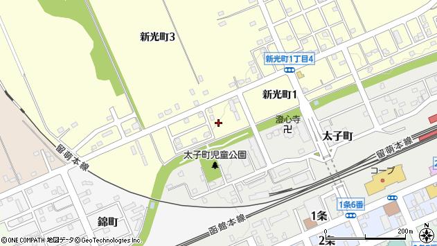 〒074-0024 北海道深川市新光町の地図