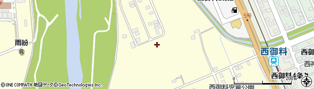 北海道旭川市西神楽1線(5号)周辺の地図