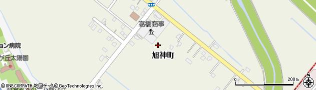 北海道旭川市旭神町周辺の地図