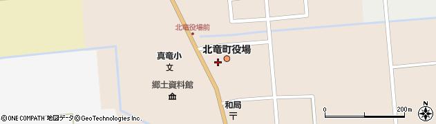 北海道雨竜郡北竜町周辺の地図