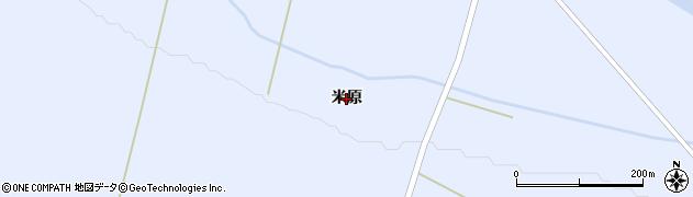 北海道旭川市東旭川町(米原)周辺の地図