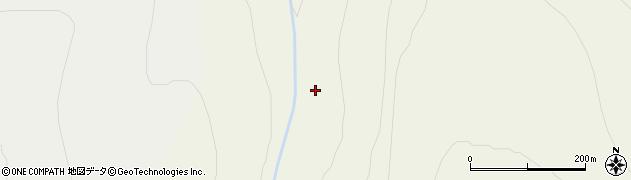 天幕沢周辺の地図